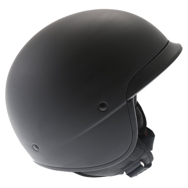 Bell Scout Air Matt Black Open Face Motorcycle Helmet Right Side