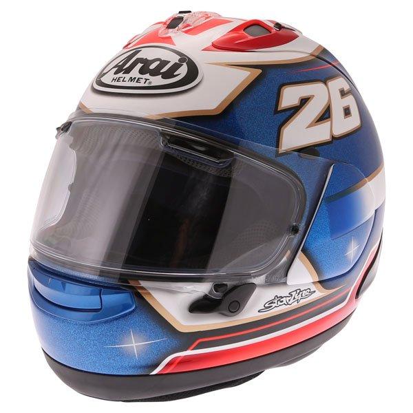 RX-7V Pedrosa Helmet Samurai