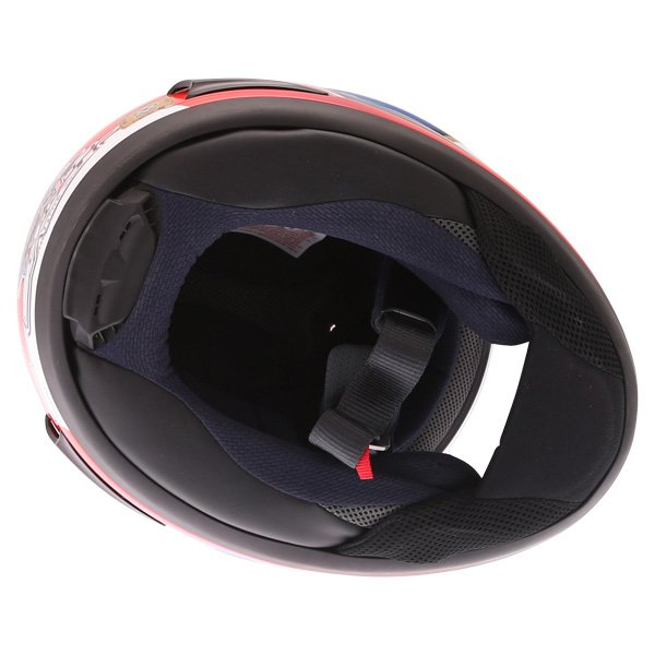 Arai RX-7V Pedrosa Samurai Full Face Motorcycle Helmet Inside