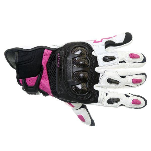 Stella SPX AC Gloves Black White Fuchsia Alpinestars