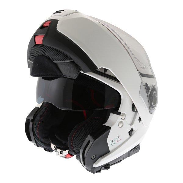 N100-5 Classic N-Com Helmet 005 White Motorcycle Helmets