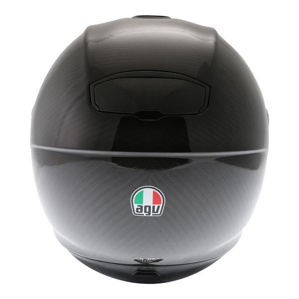 AGV Sport Modular Gloss Carbon Flip Front Motorcycle Helmet Right side