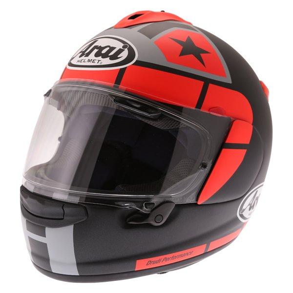 Arai Chaser-X Maverick GP Full Face Motorcycle Helmet Front Left