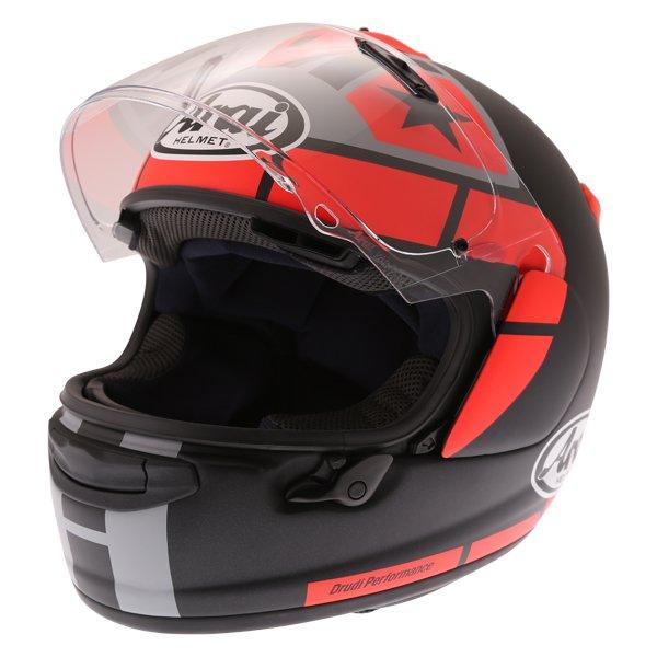 Arai Chaser-X Maverick GP Full Face Motorcycle Helmet Open Visor