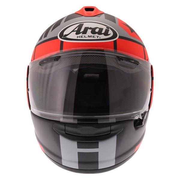 Arai Chaser-X Maverick GP Full Face Motorcycle Helmet Front