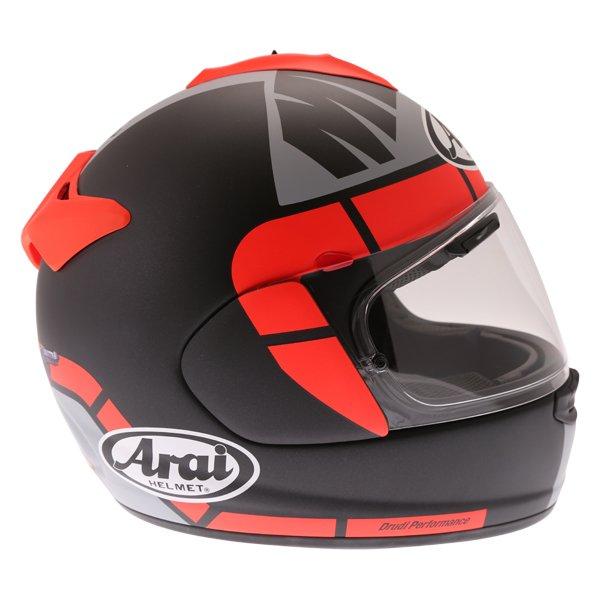Arai Chaser-X Maverick GP Full Face Motorcycle Helmet Right Side