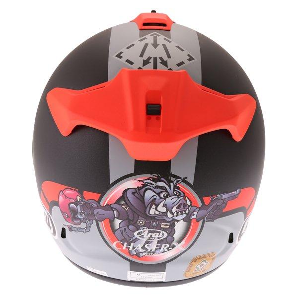 Arai Chaser-X Maverick GP Full Face Motorcycle Helmet Back