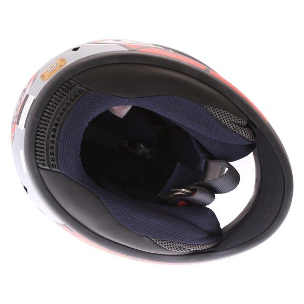 Arai Chaser-X Maverick GP Full Face Motorcycle Helmet Inside