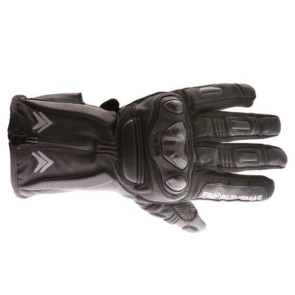 01-17 WP Gloves Black Motorcycle Gloves
