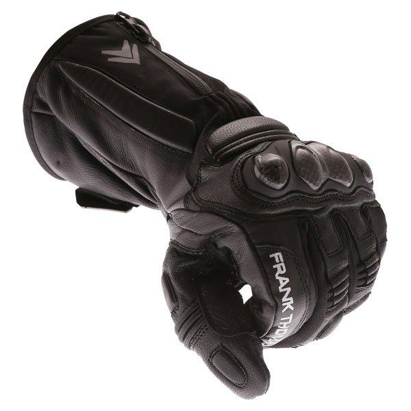 Frank Thomas 01-17 Waterproof Black Gloves Knuckle