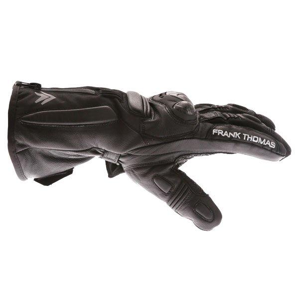 Frank Thomas 01-17 Waterproof Black Gloves Thumb side