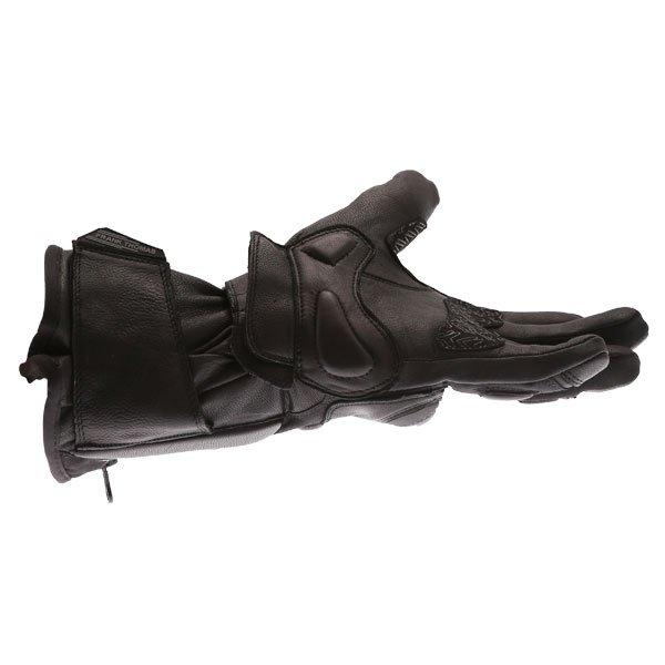 Frank Thomas 01-17 Waterproof Black Gloves Little finger side