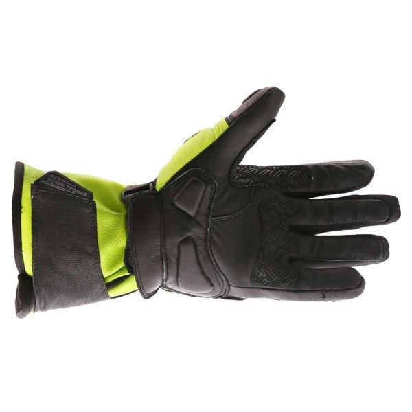 Frank Thomas 01-17 Waterproof Black Yellow Gloves Palm