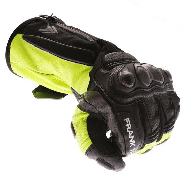 Frank Thomas 01-17 Waterproof Black Yellow Gloves Knuckle