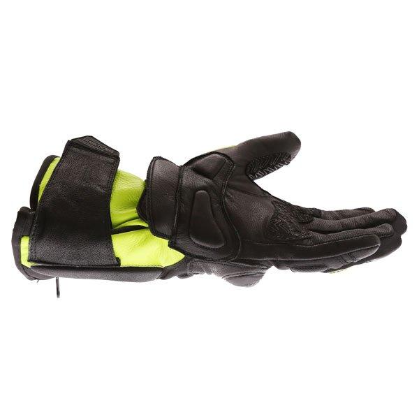 Frank Thomas 01-17 Waterproof Black Yellow Gloves Little finger side