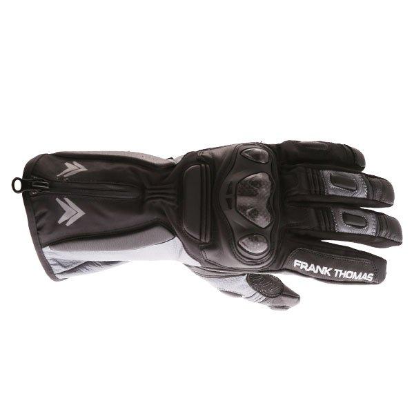 01-17 WP Gloves Black Grey Winter Gloves