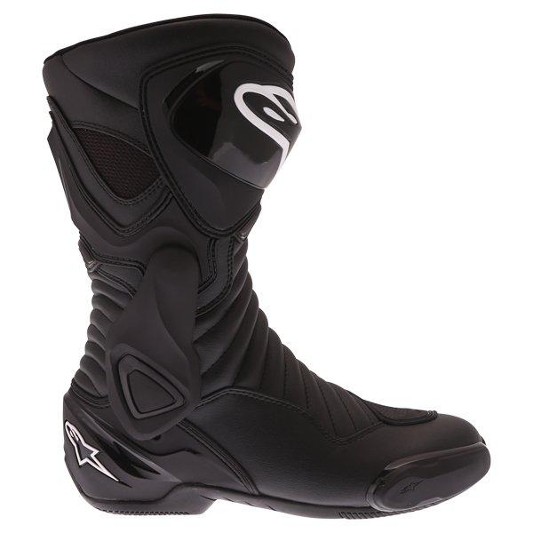 Alpinestars SMX 6 V2 Drystar Black Motorcycle Boots Outside leg