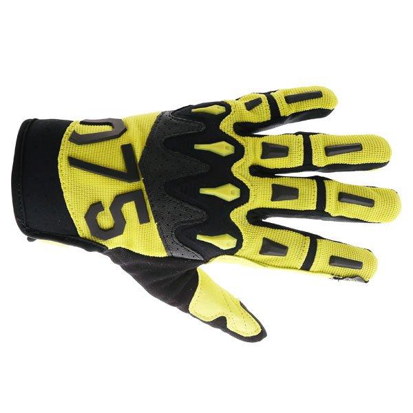 Overload 2 Gloves Laser Yellow Motocross
