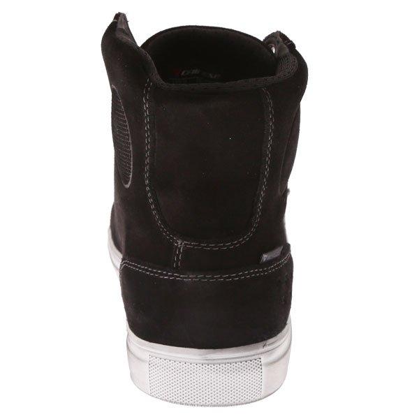 Dainese Street Biker D-WP Black Anthracite Motorcycle Shoes Heel