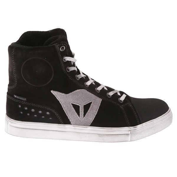 Dainese Street Biker D-WP Black Anthracite Motorcycle Shoes Outside leg