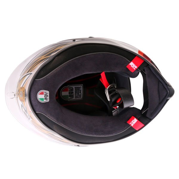 AGV Corsa-R Sic58 Full Face Motorcycle Helmet Inside