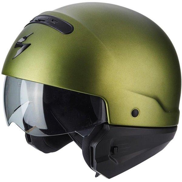 Exo Combat Helmet Matt Green Scorpion Helmets