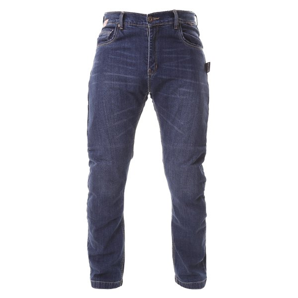 RED017 Modica Jeans Blue Denim Motorcycle Jeans