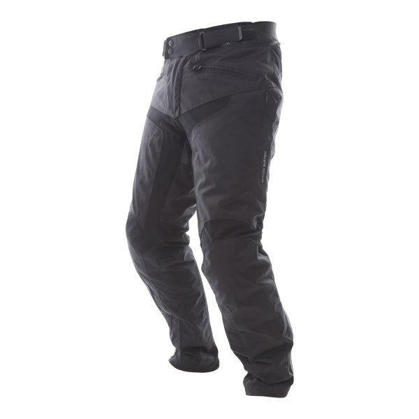 IXS Tromso-ST Tour Mens Black Textile Motorcycle Pants Riding position