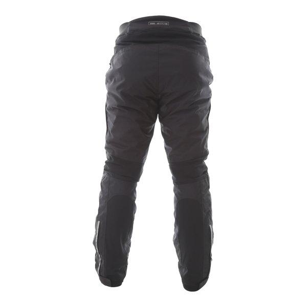 IXS Tromso-ST Mens Black Textile Motorcycle Tour Pants Rear