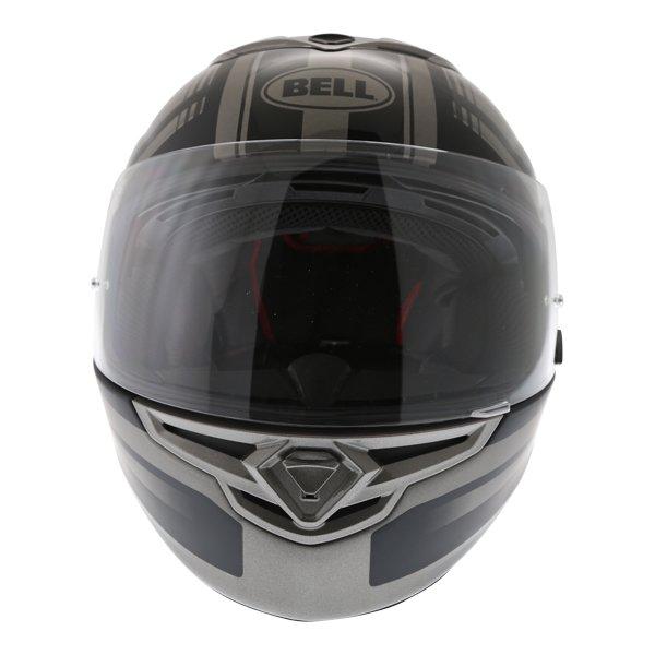 Bell RS2 Tactical Matt Black Titanium Full Face Motorcycle Helmet Front