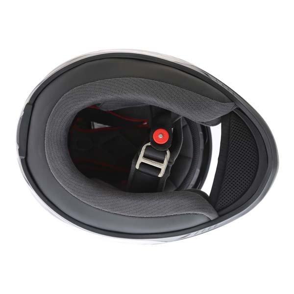 Bell RS2 Tactical Matt Black Titanium Full Face Motorcycle Helmet Inside