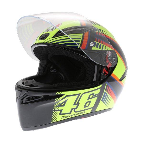 AGV K1 Soleluna 2015 Full Face Motorcycle Helmet Visor Open