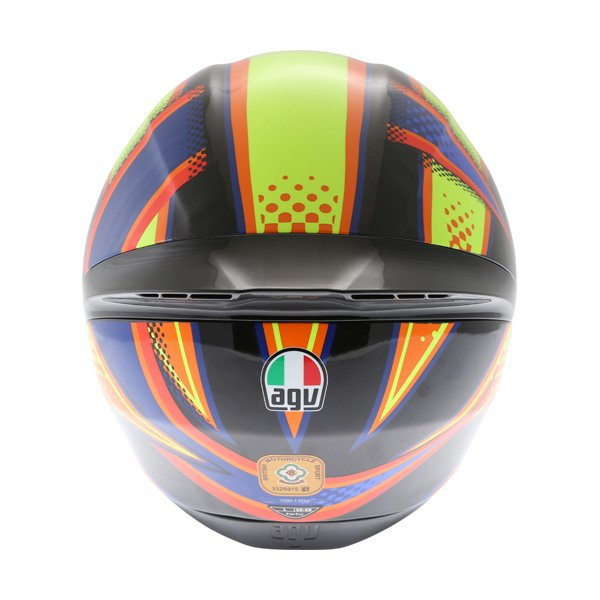 AGV K1 Soleluna 2015 Full Face Motorcycle Helmet Back