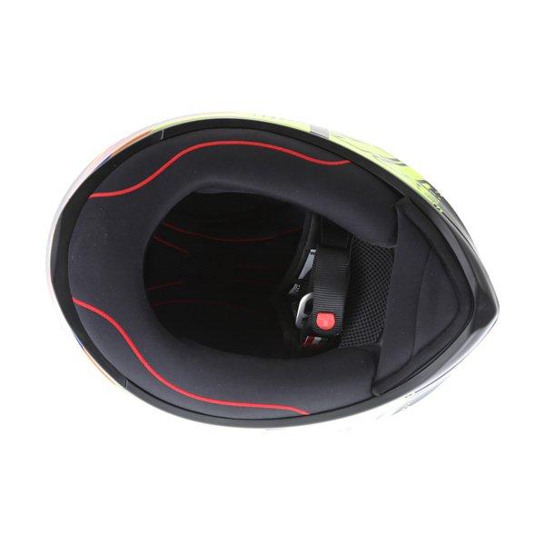 AGV K1 Soleluna 2015 Full Face Motorcycle Helmet Inside