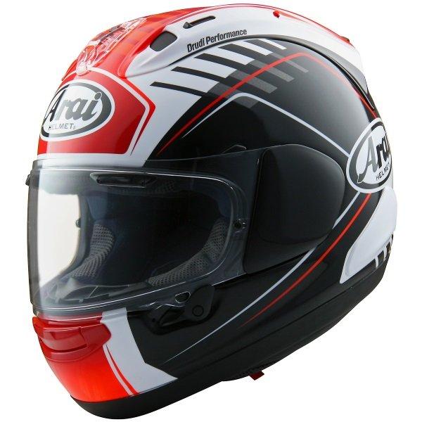 Arai RX-7V Rea Ltd Full Face Motorcycle Helmet Front Left