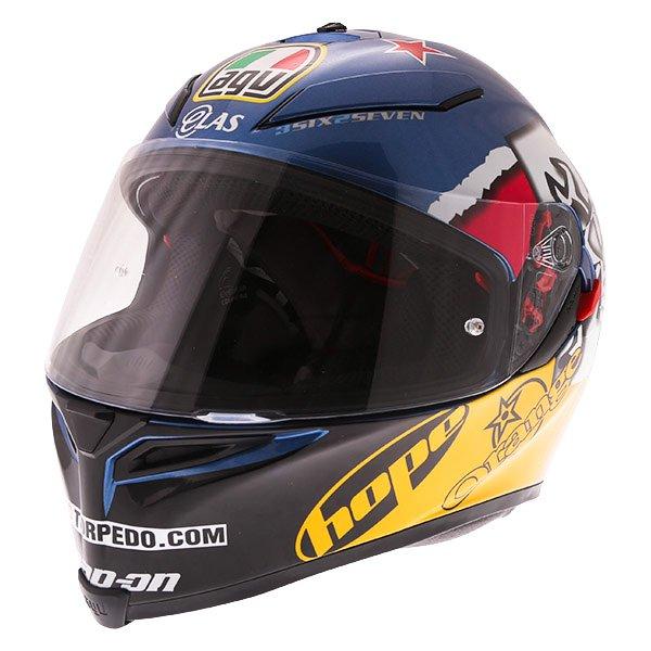 AGV K5-S Guy Martin 3some Full Face Motorcycle Helmet Front Left