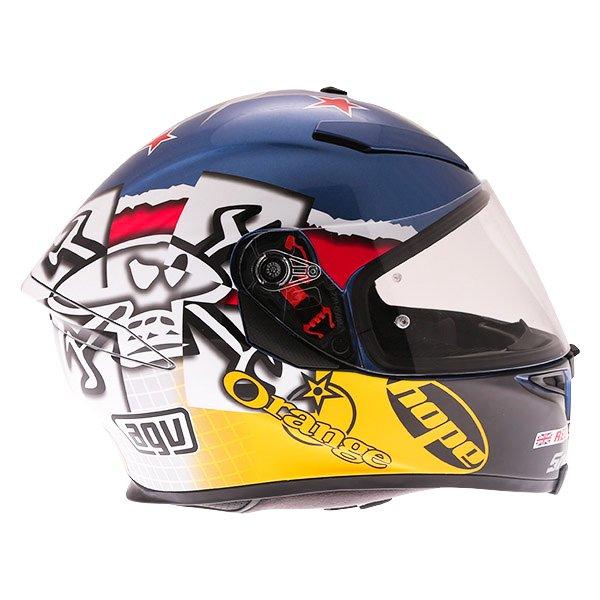 AGV K5-S Guy Martin 3some Full Face Motorcycle Helmet Right Side