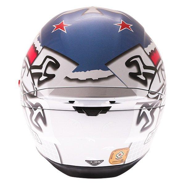 AGV K5-S Guy Martin 3some Full Face Motorcycle Helmet Back