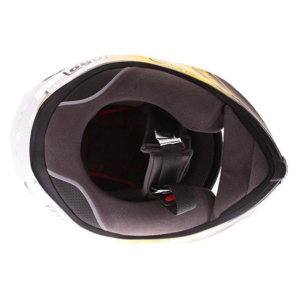 AGV K5-S Guy Martin 3some Full Face Motorcycle Helmet Inside