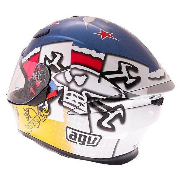 AGV K5-S Guy Martin 3some Full Face Motorcycle Helmet Back Left