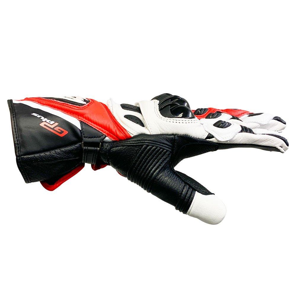 Alpinestars GP Plus Gloves Black White Red Size: Mens - M