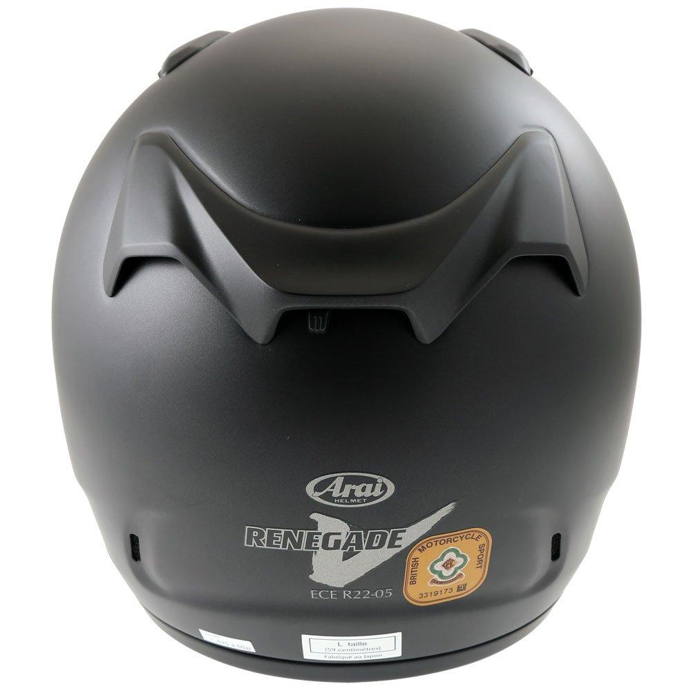 Arai Renegade-V Helmet Frost Black Size: L