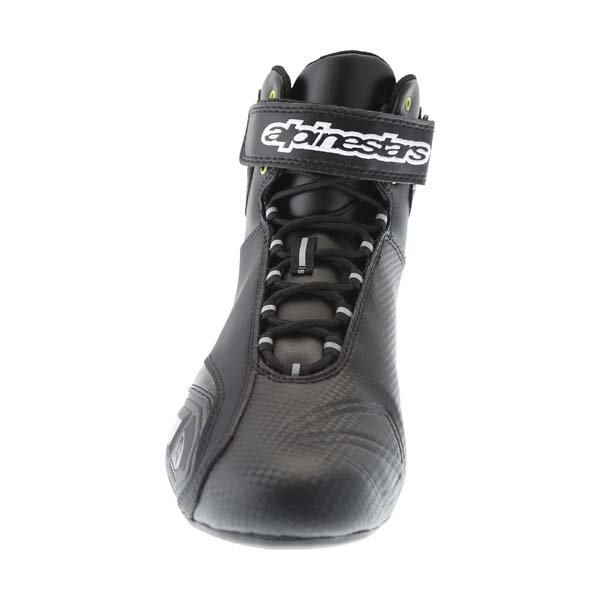 Alpinestars Fast 1 Black Motorcycle Shoe Front