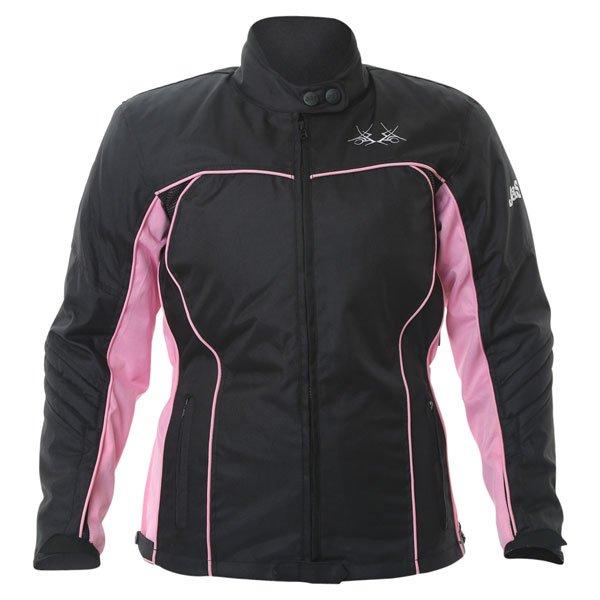 Tracy 2640 Jacket Black Pink J&S Ladies