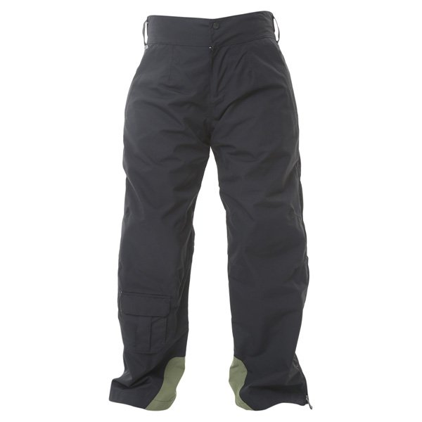 Armadillo Ladies Black Textile Motorcycle Trousers Front