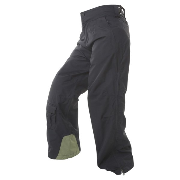 Armadillo Ladies Black Textile Motorcycle Trousers Riding position