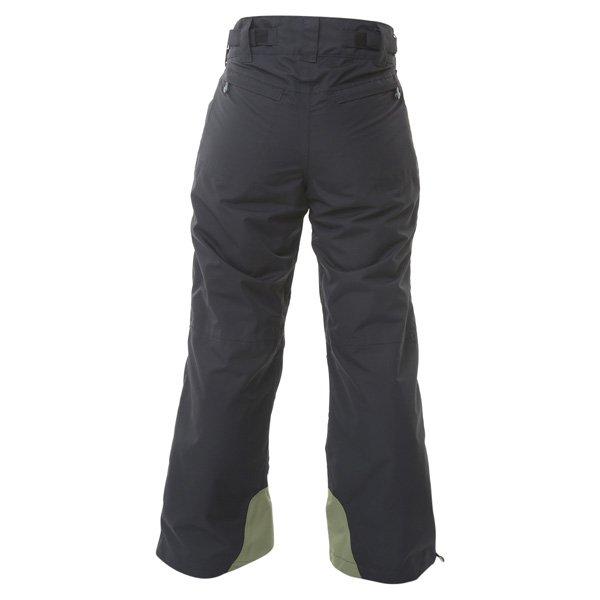 Armadillo Ladies Black Textile Motorcycle Trousers Rear
