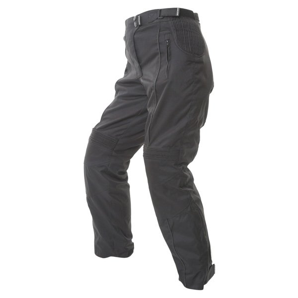 Frank Thomas FTW334 Lady Rider Ladies Black Textile Motorcycle Trousers Riding position