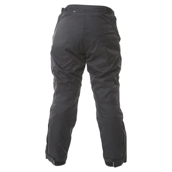 Frank Thomas FTW334 Lady Rider Ladies Black Textile Motorcycle Trousers Rear