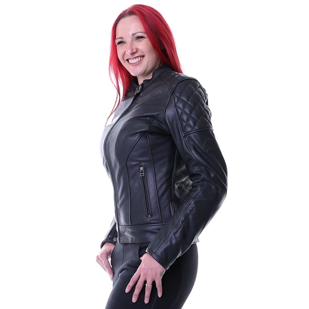 BKS Retro Ladies Jacket Black Size: LADIES UK - 12